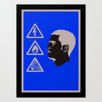 Eden Hazard - IBWM - The… Art Print