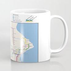 Milwaukee Transit System Map Mug