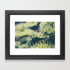 Get Wiggly Framed Art Print