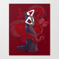Dreaming Dragons Canvas Print