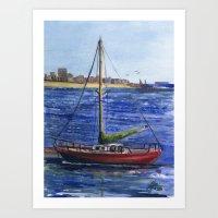 Metro Marine Art Print