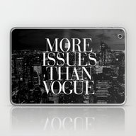 Laptop & iPad Skin featuring More Issues Than Vogue B… by RexLambo