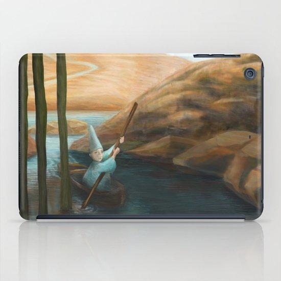In his Boat iPad Case