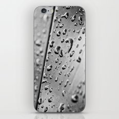 black and white drops iPhone & iPod Skin