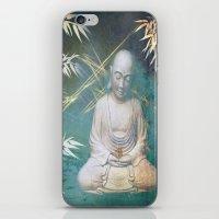 Buddha's awakening from deep meditation iPhone & iPod Skin