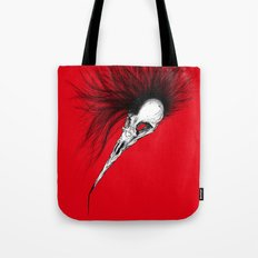 Bird Skull Tote Bag