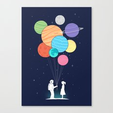 You are my universe Canvas Print