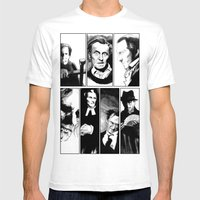 Cushing Horrors Mens Fitted Tee White SMALL
