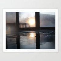 Sun Through The Window Art Print
