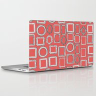 Picture Frames Coral Laptop & iPad Skin