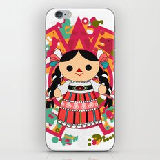 Maria 4 (Mexican Doll) iPhone & iPod Skin