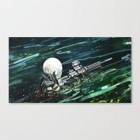 Water Recon Canvas Print