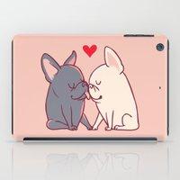 French Kiss iPad Case