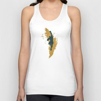 Feed The Tiger (Homage T… Unisex Tank Top