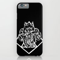 Goat as wolf iPhone 6 Slim Case