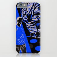 iPhone & iPod Case featuring Cat and Mouse by Matt Willis