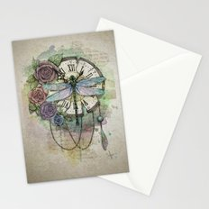 Time flies Stationery Cards