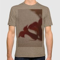 Red Mens Fitted Tee Tri-Coffee SMALL