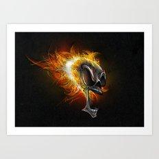 Ghost Rider Art Print