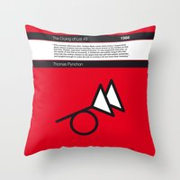 No023 MY The Crying of Lot 49 Book Icon poster Throw Pillow