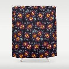 Beetle Pattern Shower Curtain
