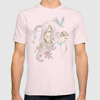 I Don´t Want Promises Mens Fitted Tee Light Pink SMALL