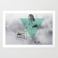 La Vida A Tientas Art Print
