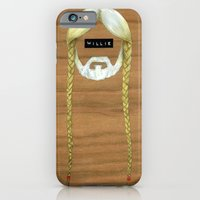 iPhone & iPod Case featuring Willie & Snoop by FAMOUS WHEN DEAD