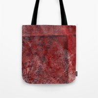 Red Watercolor Tote Bag