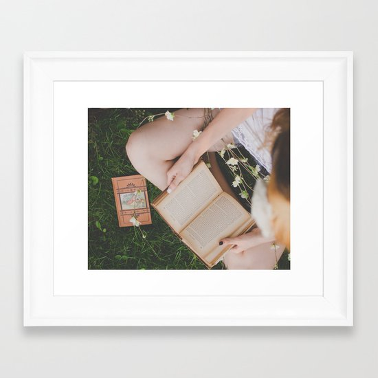 A type of Romance Framed Art Print
