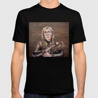 Log Lady / Twin Peaks Mens Fitted Tee Black SMALL