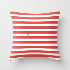 Dude.. I'm right here Throw Pillow