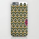 Rubine Feather iPhone & iPod Case