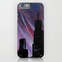 chicago iPhone & iPod Cases featuring Chicago by Tesseract