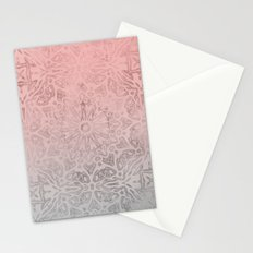 Oriental Rose Quartz Stationery Cards