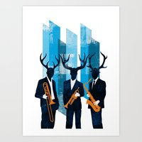 Horn Section Art Print