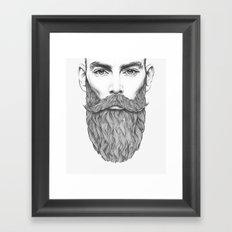 Force Framed Art Print