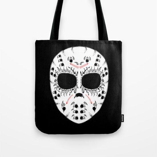 Viernes The 13Th Sugar Skull Tote Bag