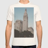 Flatiron Mens Fitted Tee Natural SMALL