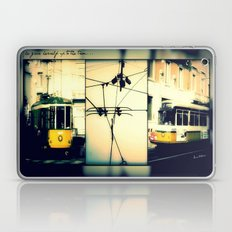She Gave Herself Up To The Tram Laptop & iPad Skin