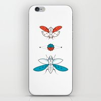 Two Insects II iPhone & iPod Skin