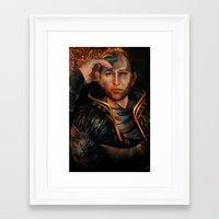 Anders Framed Art Print