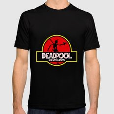 Deadpool : Merc with a Mouth Mens Fitted Tee Black SMALL