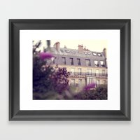 paris charm Framed Art Print