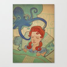 Aquatic nightmare Canvas Print