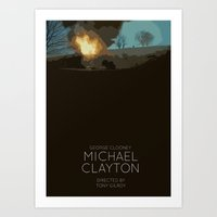 Michael Clayton Art Print