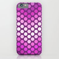 Dot Chevron: Pink Plum iPhone 6 Slim Case