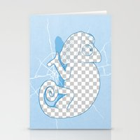Transparent mode on Stationery Cards