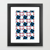 Blue Rhapsody - By  SewMoni Framed Art Print