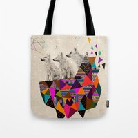 The Night Playground By … Tote Bag